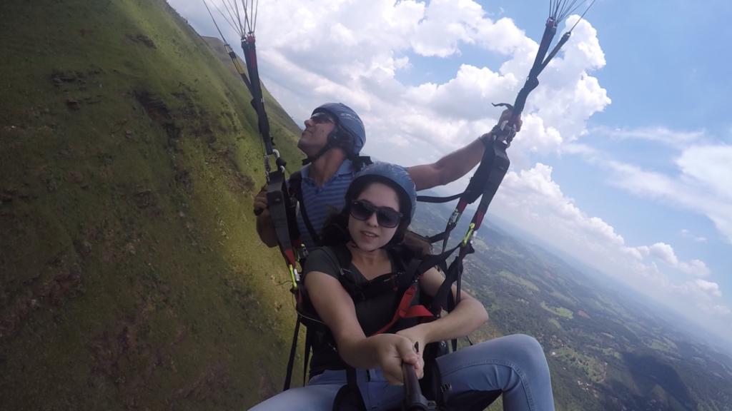 Serra da Moeda paraglider (parapente)